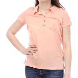 Vêtements Femme Polos manches courtes Sun Valley SV-ANACO Orange