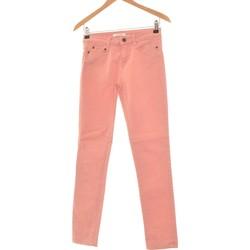 Vêtements Femme Jeans slim Camaieu Jean Slim Femme  34 - T0 - Xs Rose