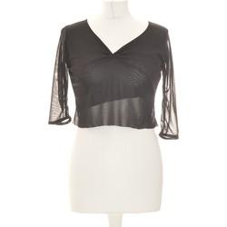 Vêtements Femme Tops / Blouses Esperance Top Manches Longues  36 - T1 - S Noir