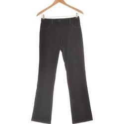 Vêtements Femme Pantalons Chattawak Pantalon Bootcut Femme  36 - T1 - S Noir