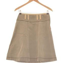 Vêtements Femme Jupes Manoukian Jupe Mi Longue  36 - T1 - S Vert