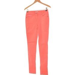 Vêtements Femme Jeans slim Etam Jean Slim Femme  34 - T0 - Xs Rose