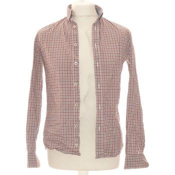 Vêtements Homme Chemises manches longues Celio Chemise Manches Longues  36 - T1 - S Rouge
