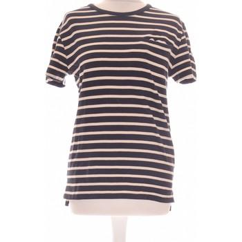 Vêtements Femme Tops / Blouses A.p.c. Top Manches Courtes A.p.c. 36 - T1 - S Bleu