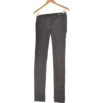 Vêtements Femme Jeans droit Meltin'pot Jean Droit Femme  34 - T0 - Xs Noir