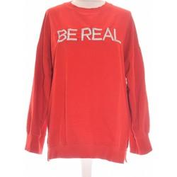 Vêtements Femme Sweats Bershka Sweat Femme  34 - T0 - Xs Rouge