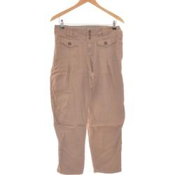 Vêtements Femme Pantalons cargo Creeks Pantalon Droit Femme  38 - T2 - M Marron