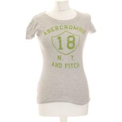 Vêtements Femme T-shirts manches courtes Abercrombie Top Manches Courtes  36 - T1 - S Gris