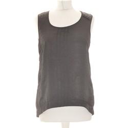 Vêtements Femme Débardeurs / T-shirts sans manche Manoukian Débardeur  32 Noir