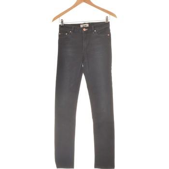 Vêtements Femme Jeans slim Acne Jean Slim Femme  34 - T0 - Xs Noir