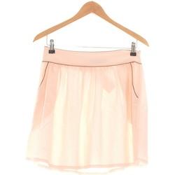 Vêtements Femme Jupes Etam Jupe Courte  36 - T1 - S Rose