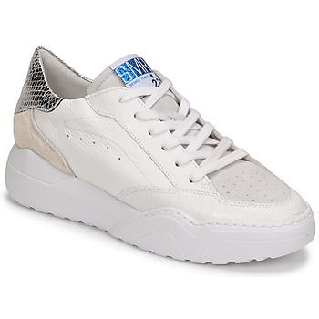 Chaussures Femme Baskets basses Semerdjian TANY Blanc / Argenté