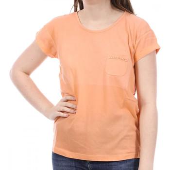Vêtements Femme T-shirts manches courtes Sun Valley SV-AKRON Orange