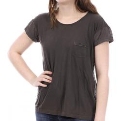 Vêtements Femme T-shirts manches courtes Sun Valley SV-AKRON Marron
