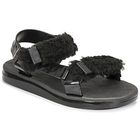 Chaussures Femme Sandales et Nu-pieds Melissa MELISSA PAPETTE FLUFFY RIDER AD Noir