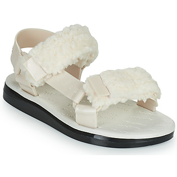 Chaussures Femme Sandales et Nu-pieds Melissa MELISSA PAPETTE FLUFFY RIDER AD Beige/Noir