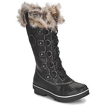 Chaussures Femme Bottes de neige Kimberfeel BEVERLY Noir