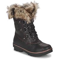 Chaussures Femme Bottes de neige Kimberfeel CAMILLE Noir