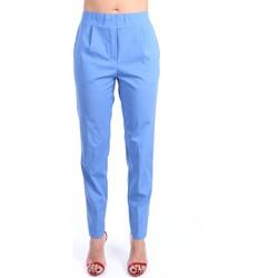 Vêtements Femme Chinos / Carrots Anna Seravalli S914 Chino Femme Bleu Bleu