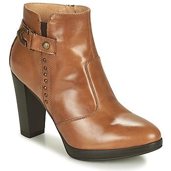 Chaussures Femme Bottines NeroGiardini  Cognac