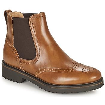 Chaussures Femme Boots NeroGiardini  Cognac
