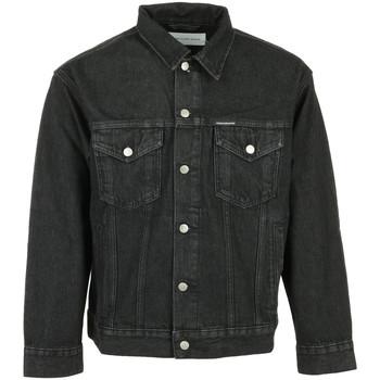 Vêtements Homme Vestes en jean Calvin Klein Jeans Dad Denim Jacket noir