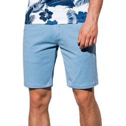 Vêtements Homme Shorts / Bermudas Monsieurmode Short chino pour homme Short W224 bleu clair Bleu