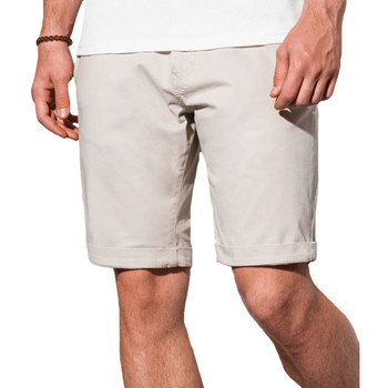 Vêtements Homme Shorts / Bermudas Monsieurmode Short chino pour homme Short W243 beige Beige