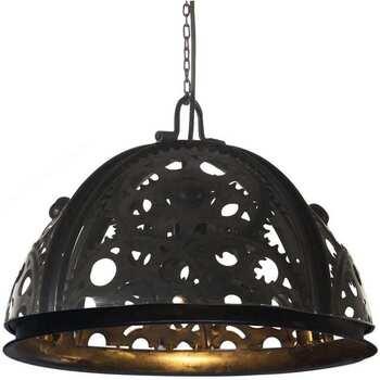 Maison & Déco Lustres, suspensions et plafonniers Vidaxl Lampe Noir
