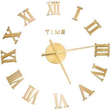 Maison & Déco Horloges Vidaxl Horloge murale Or