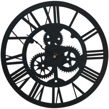 Maison & Déco Horloges Vidaxl Horloge murale Noir
