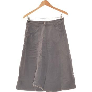 Vêtements Femme Jupes Camaieu Jupe Mi Longue  36 - T1 - S Gris