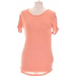Vêtements Femme Tops / Blouses Zara Top Manches Courtes  36 - T1 - S Orange