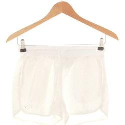 Vêtements Femme Shorts / Bermudas Bonobo Short  34 - T0 - Xs Blanc