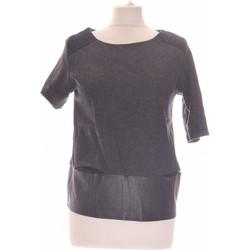 Vêtements Femme Tops / Blouses Suncoo Top Manches Courtes  36 - T1 - S Gris
