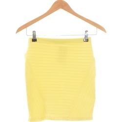 Vêtements Femme Jupes Bershka Jupe Courte  36 - T1 - S Jaune