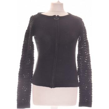 Vêtements Femme Gilets / Cardigans Eleven Paris Gilet Femmeeleven Paris36 - T1 - S Noir