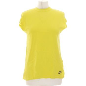 Vêtements Femme Tops / Blouses Nike Débardeur  34 - T0 - Xs Vert