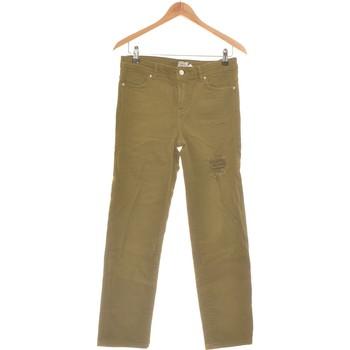 Vêtements Femme Jeans droit Pimkie Jean Droit Femme  36 - T1 - S Vert