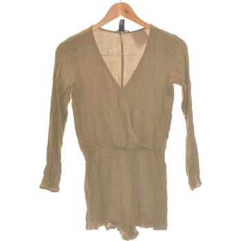Vêtements Femme Combinaisons / Salopettes Forever 21 Combi-short  36 - T1 - S Vert