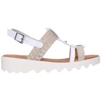 Chaussures Femme Sandales et Nu-pieds Valeria's 7141 Mujer Blanco blanc
