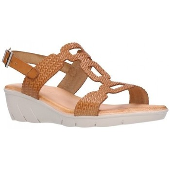 Chaussures Femme Sandales et Nu-pieds Valeria's 7022 encina Mujer Cuero marron