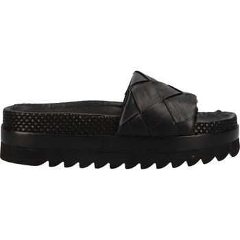 Chaussures Femme Sabots La Strada Mules Schwarz