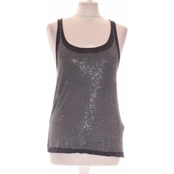 Vêtements Femme Débardeurs / T-shirts sans manche Bershka Débardeur  40 - T3 - L Noir