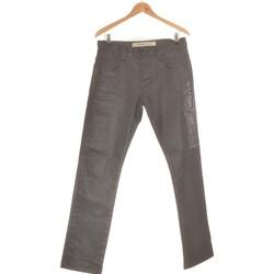 Vêtements Homme Jeans droit Freeman T.Porter Jean Droit Homme  40 - T3 - L Noir