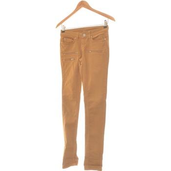 Vêtements Femme Jeans slim Ekyog Jean Slim Femme  34 - T0 - Xs Marron