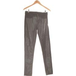 Vêtements Femme Pantalons H&M Pantalon Slim Femme  36 - T1 - S Noir