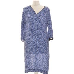 Vêtements Femme Robes courtes Chemins Blancs Robe Courte  36 - T1 - S Bleu