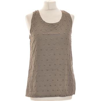 Vêtements Femme Débardeurs / T-shirts sans manche Freesoul Débardeur  36 - T1 - S Marron