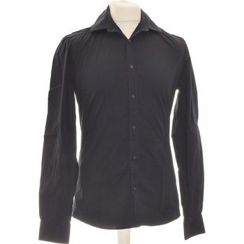 Vêtements Homme Chemises manches longues Brice Chemise Manches Longues  36 - T1 - S Noir